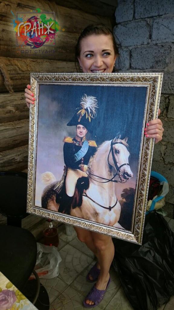 где заказать исторический портрет по фото