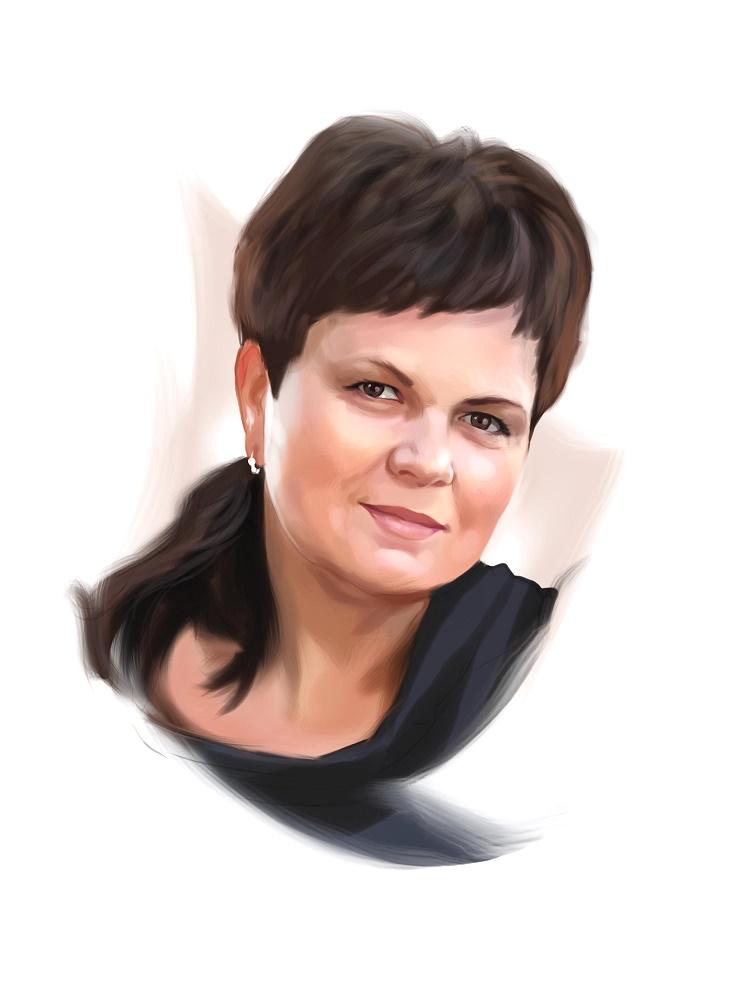 заказать портрет маме в москве