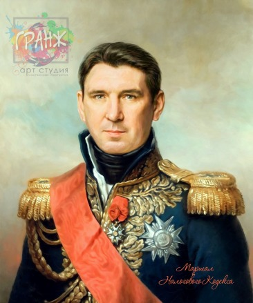 Портрет по фото на холсте в подарок мужчине на 23 февраля Москва