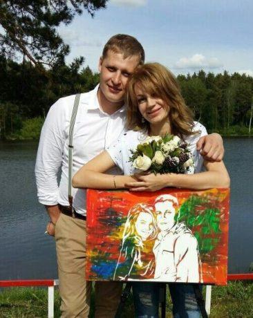 Шоу портрет своими руками в Москве, стоит ли заказать стик арт?