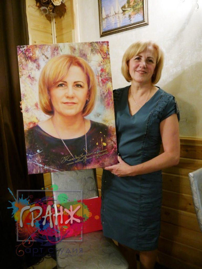 Портрет на заказ Москва